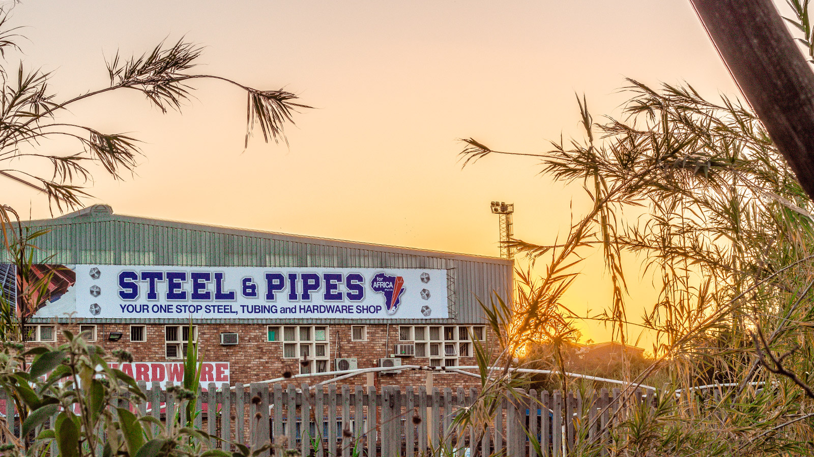 Steel and Pipes for Africa Pretoria West gets NEW Signage